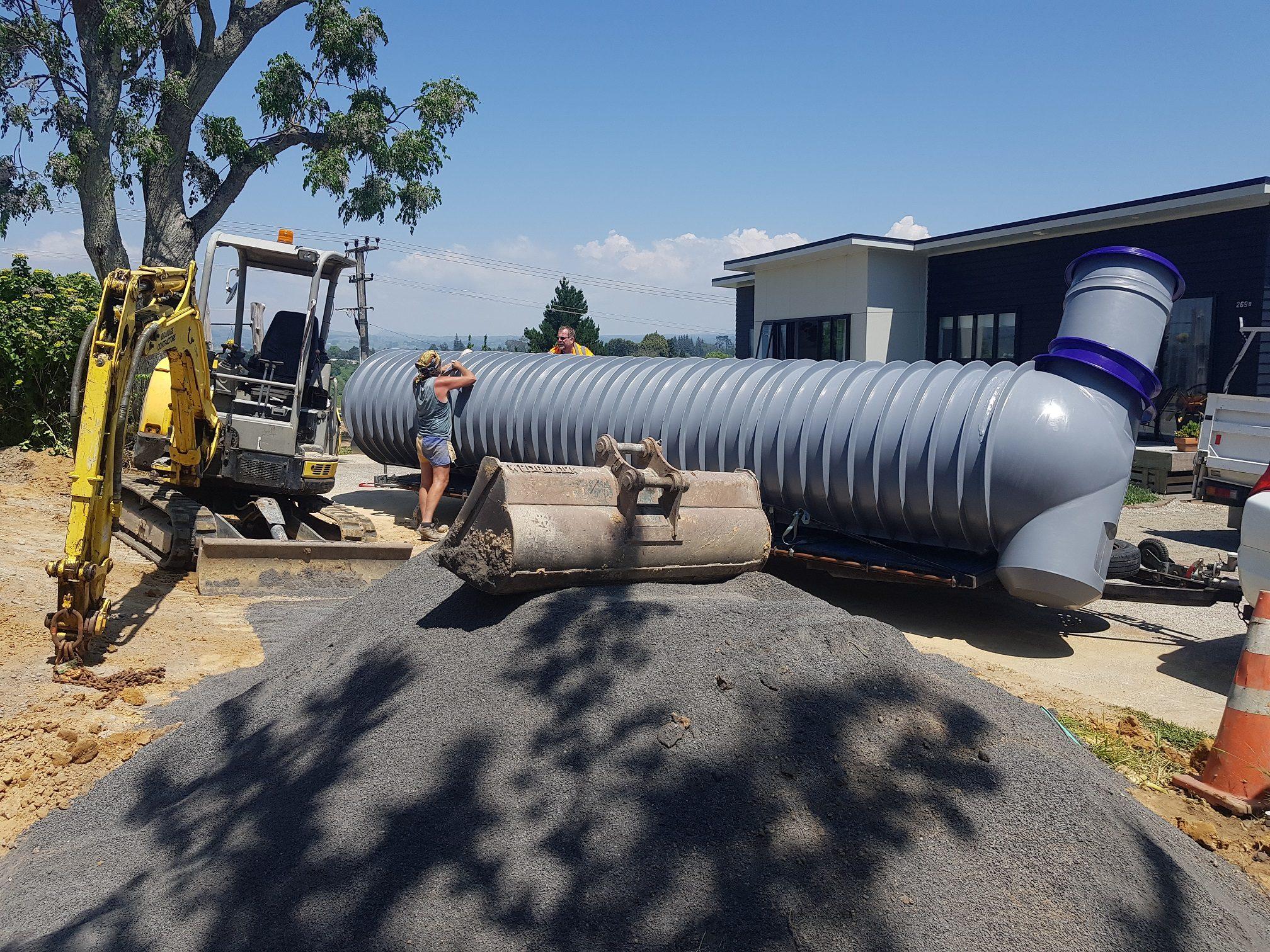 1 x 8m3 Driveway Unload Stormvault