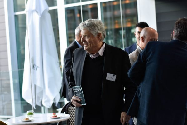 John Hynds at New Zealand Family Business Hall of Fame Event