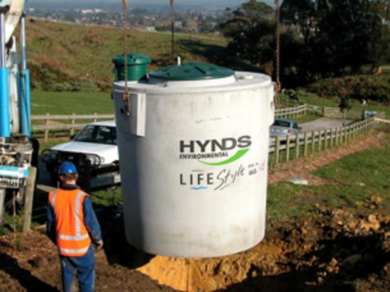 Lifestyle Tank Installation