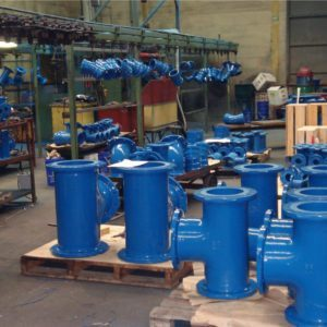 Gillies Ductile Flanged Tees