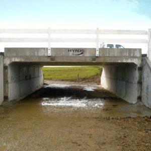 Hynds Twin U Culvert Underpass System