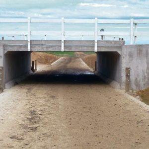 Hynds U Culvert Base Underpass System