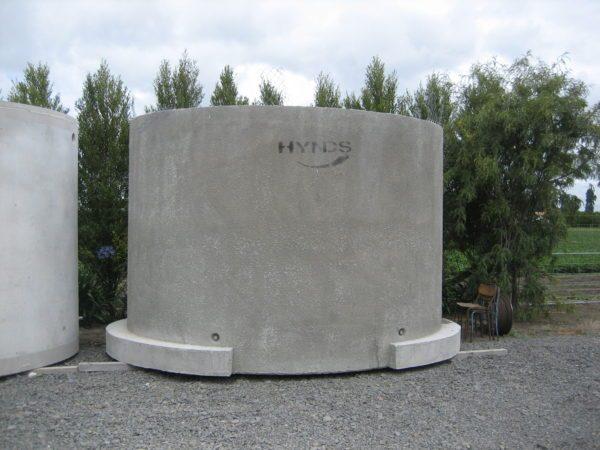 Hytank Effluent Storage with Flange Base