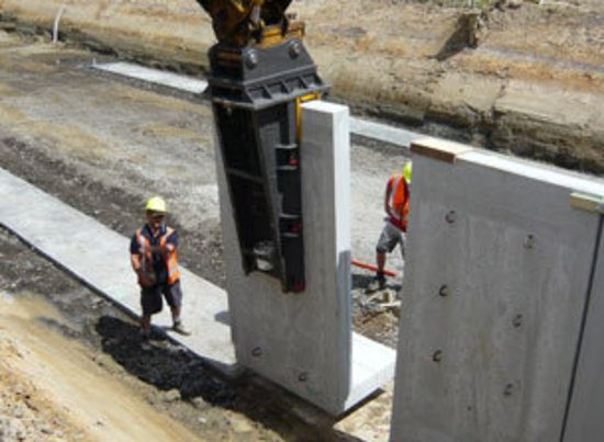 Retaining Wall System Lusit 174 Hynds Pipe Systems Ltd