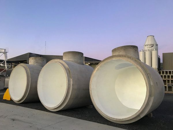 3 HDPE Lined Pipe 2100 Diameter