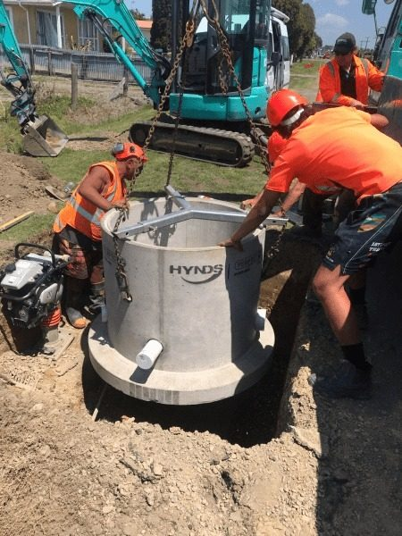 Installation of Perfect Manhole