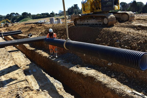 300mm CivilBoss Trench install