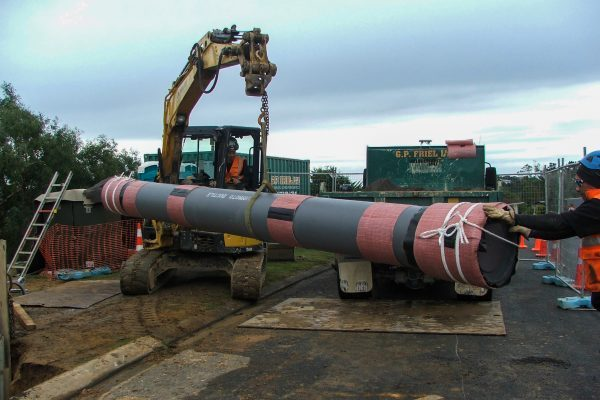 Seismic Pipe Delivery Wellington