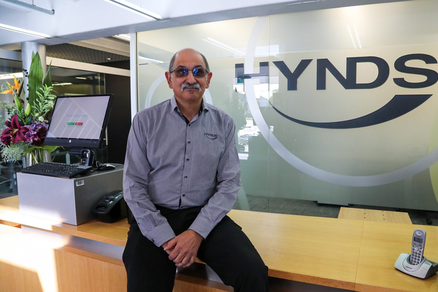 Americo dos Santos Hynds Technical Services Manager now a Fellow of Engineers