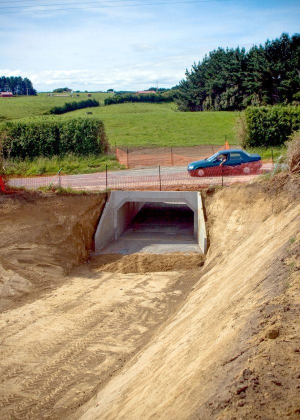 Hawera Dairy Farm 8 – Box Culvert Underpass