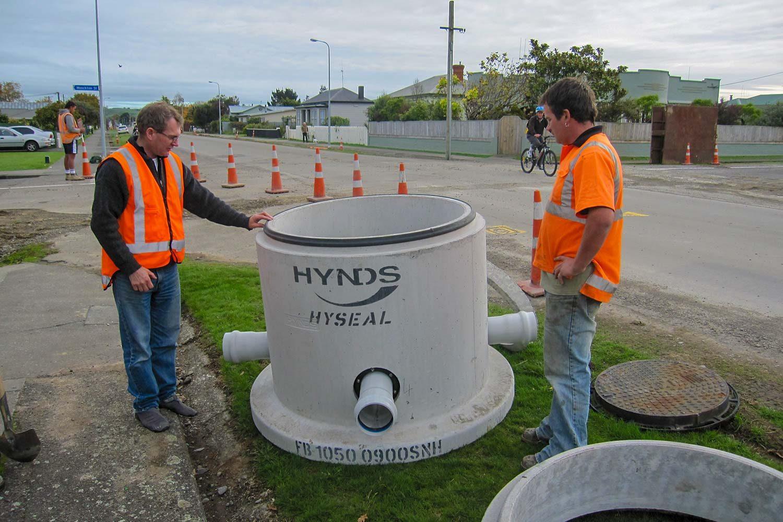 NZ's First Concrete Sealed Manhole System