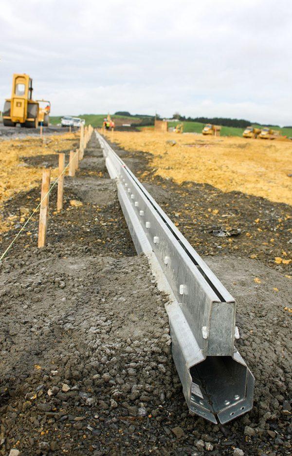 Hampton Downs Gatic Slotdrain Install
