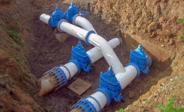 Hawle e2 Sluice Valve Pipeline