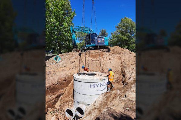 Turangi Downstream Defender Installation