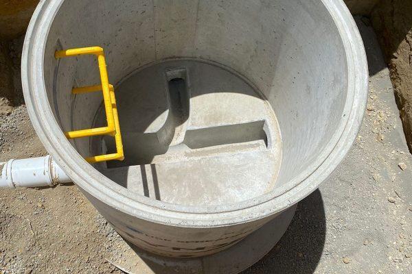 Inside Perfect Manhole