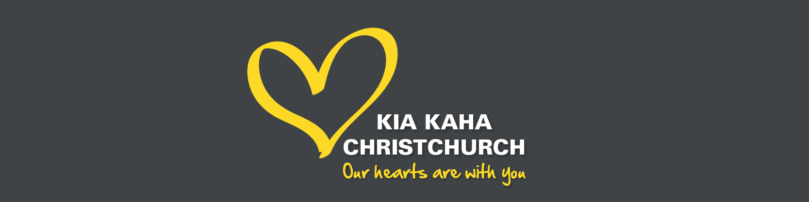 Kia Kaha Christchurch Our Heats Are With You