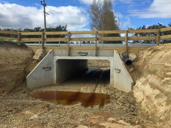Maungatua Road 4x2 Box Culvert Underpass