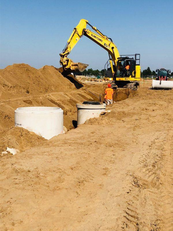 Perfect Manhole Installation Papamoa Bay Civil