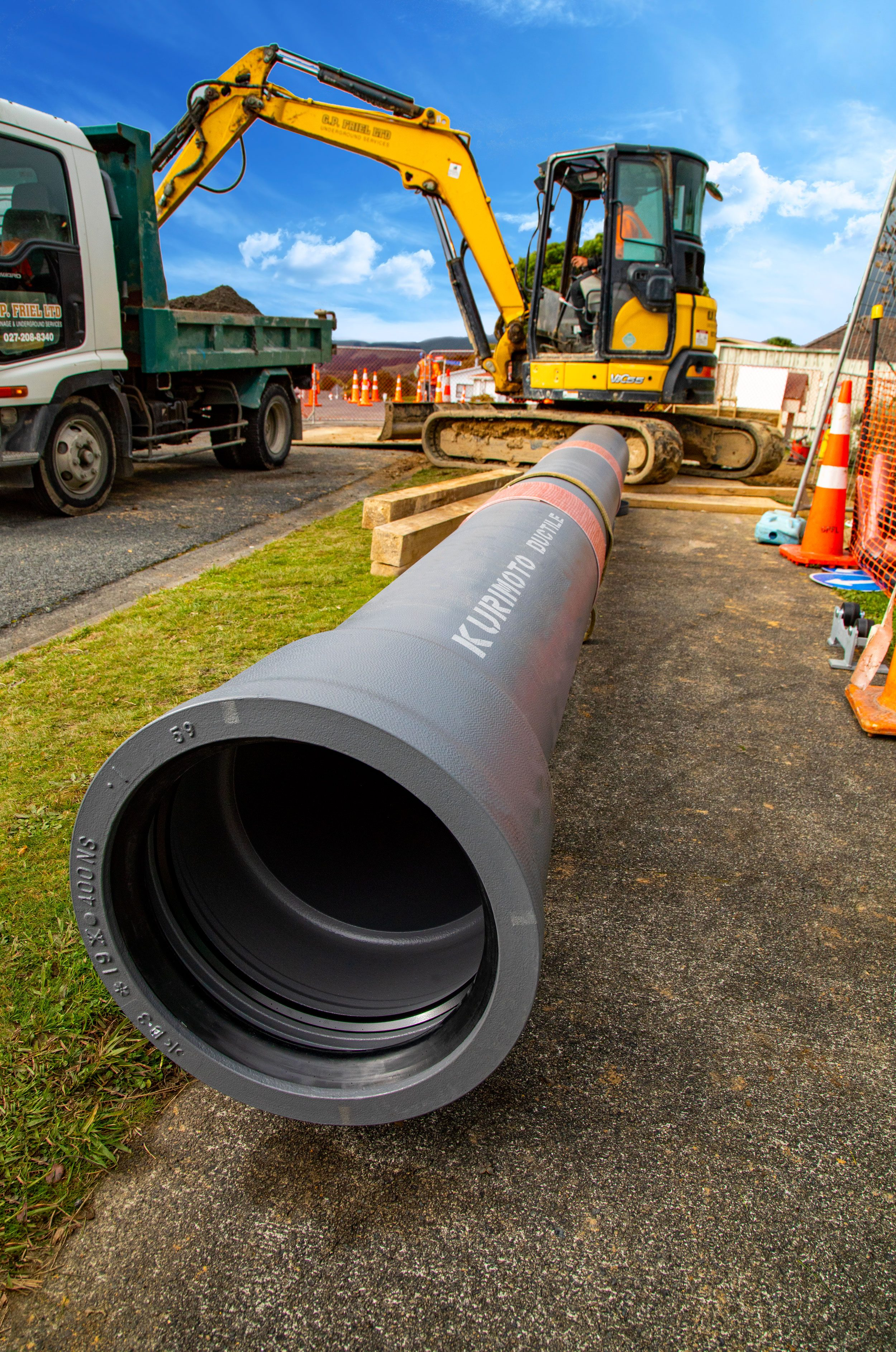 Kurimoto Seismic Resillient Pipe
