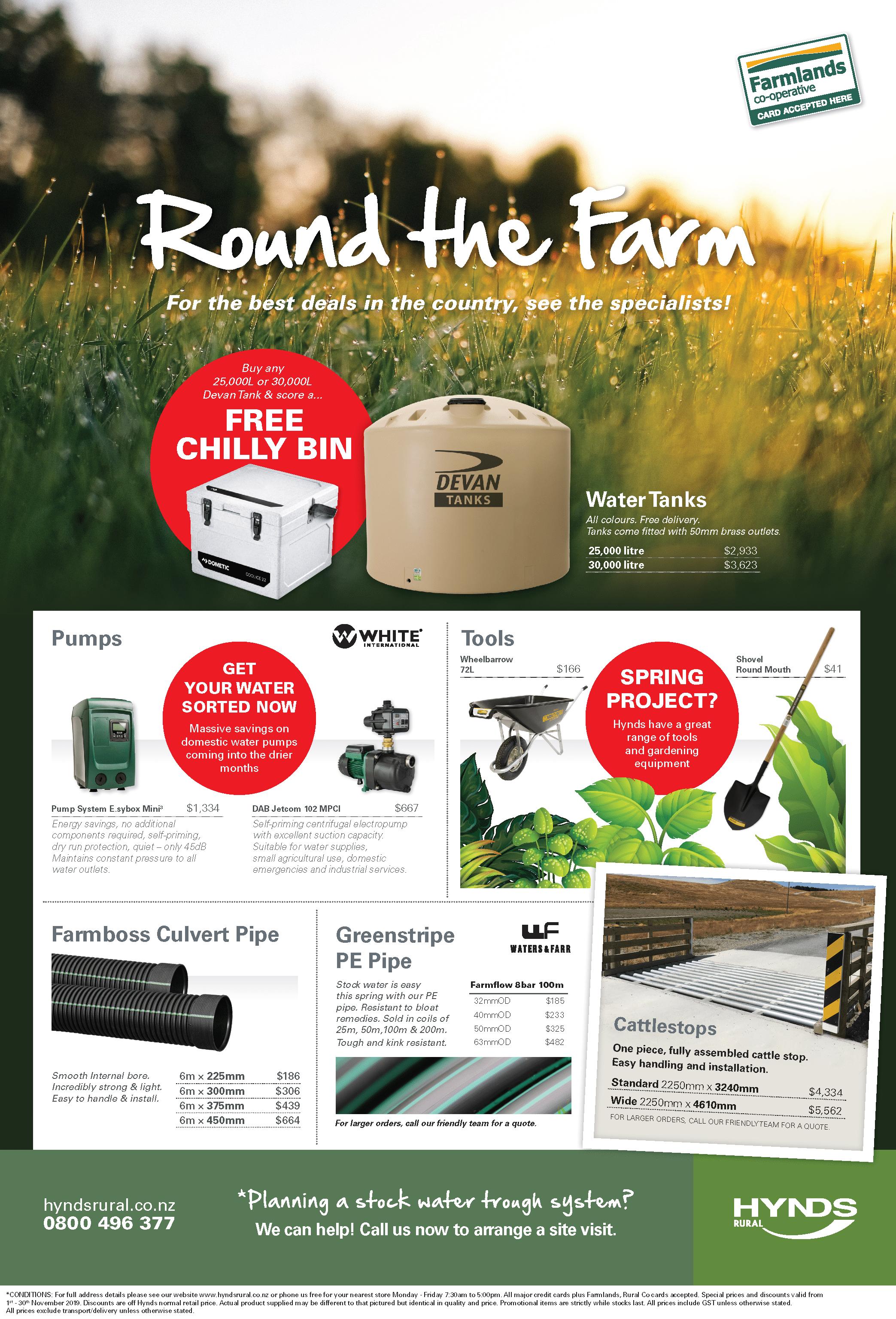 Rural News - November Advert