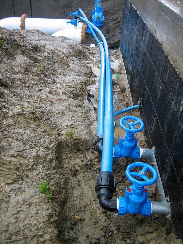 Service Valve Watermain Pipeline