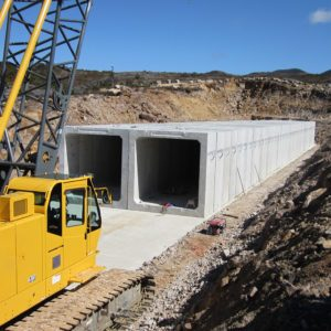 Stockton Mines Box Culvert System