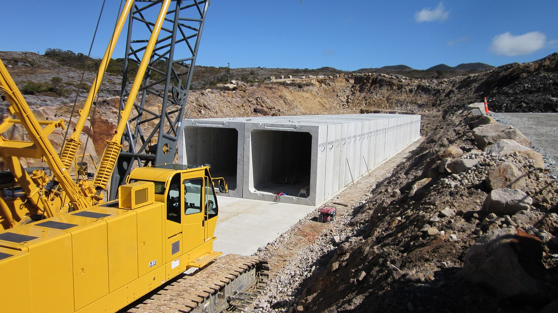 Stockton Mines Box Culvert System